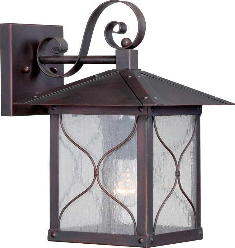"Nuvo Lighting 60/5612 Vega 9"" Width 1 Light Outdoor Lantern Wall"