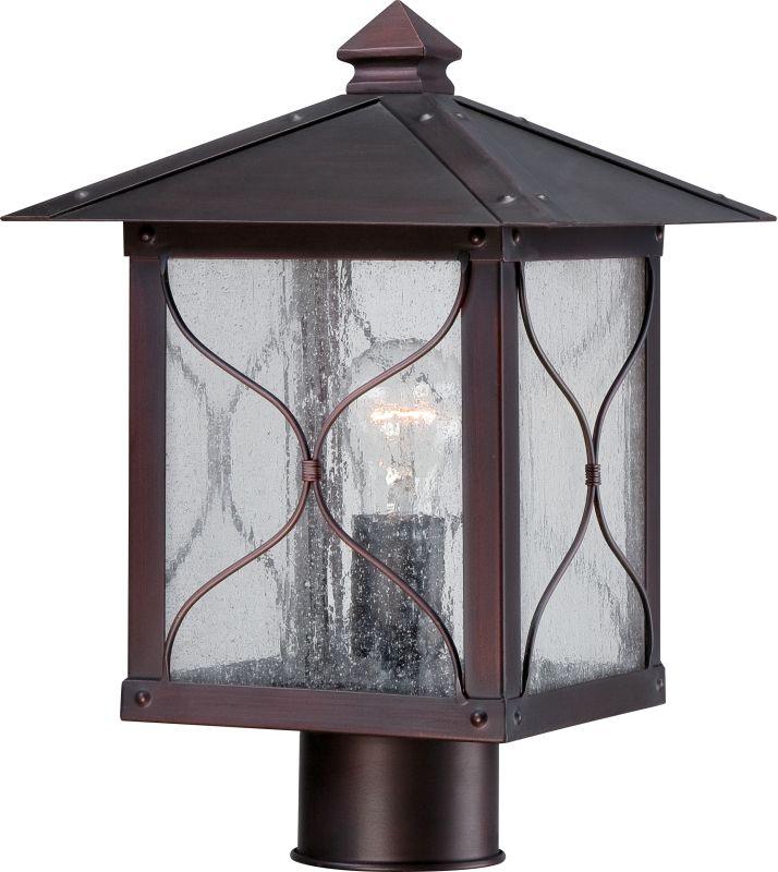 Nuvo Lighting 60/5615 Vega 1 Light Outdoor Post Light Classic Bronze