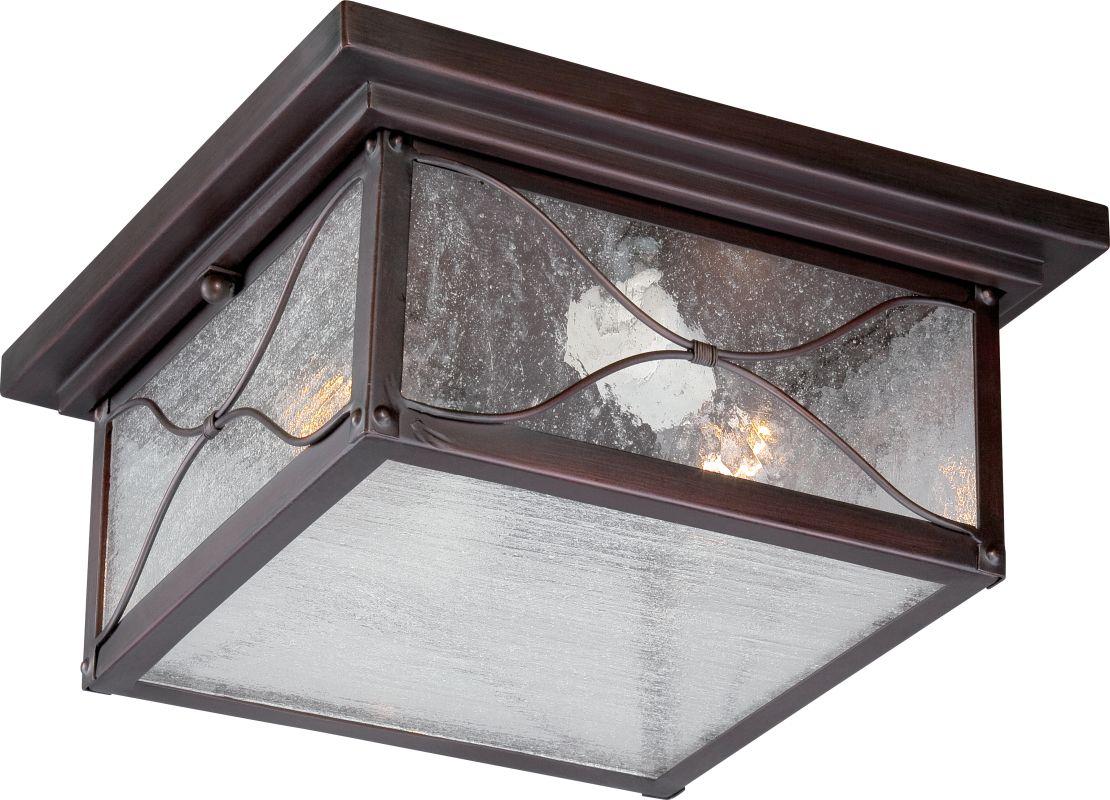 Nuvo Lighting 60/5616 Vega 2 Light Flush Mount Outdoor Ceiling Fixture