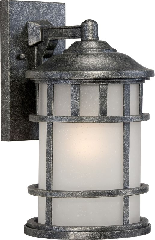 "Nuvo Lighting 60/5632 Manor 8"" Width 1 Light Outdoor Lantern Wall"