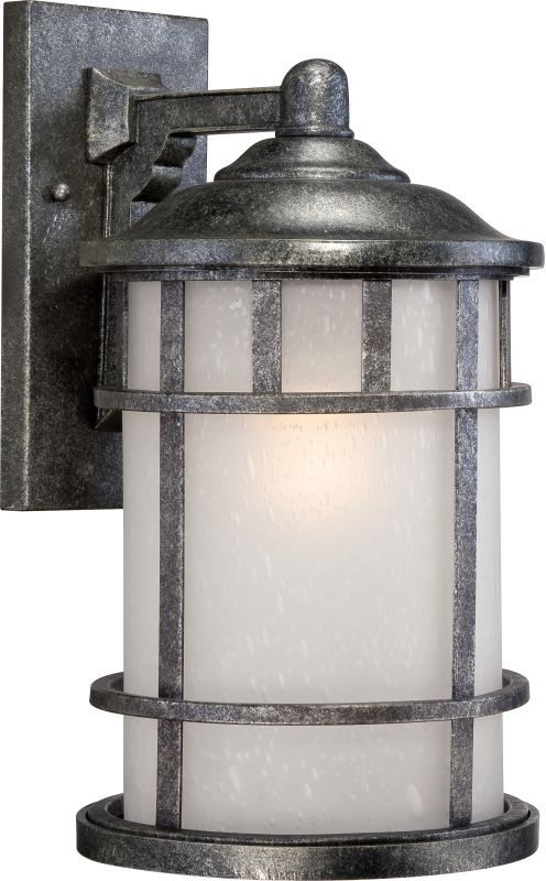 "Nuvo Lighting 60/5633 Manor 9.5"" Width 1 Light Outdoor Lantern Wall"