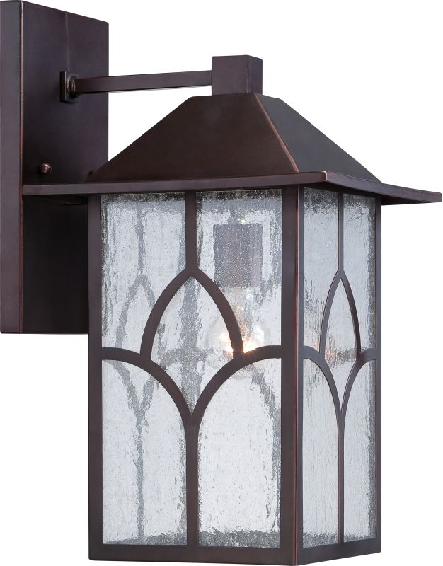 "Nuvo Lighting 60/5643 Stanton 10"" Width 1 Light Outdoor Lantern Wall"