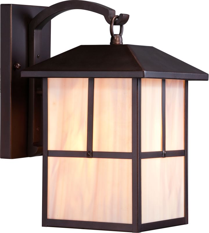 "Nuvo Lighting 60/5672 Tanner 8.375"" Width 1 Light Outdoor Lantern Wall"