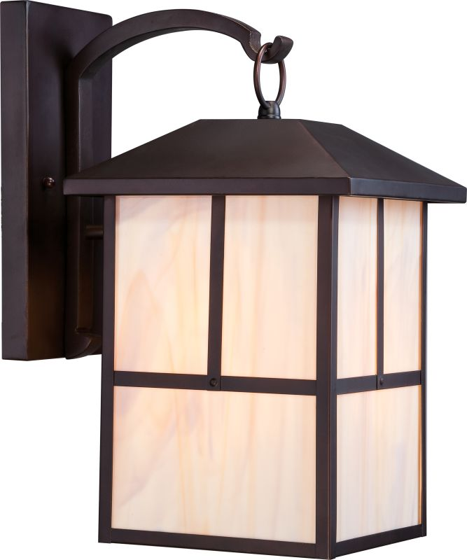 "Nuvo Lighting 60/5673 Tanner 10"" Width 1 Light Outdoor Lantern Wall"