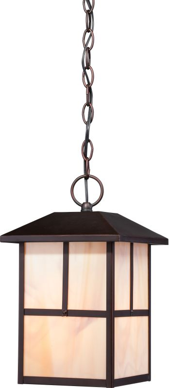 Nuvo Lighting 60/5674 Tanner 1 Light Outdoor Small Pendant Claret