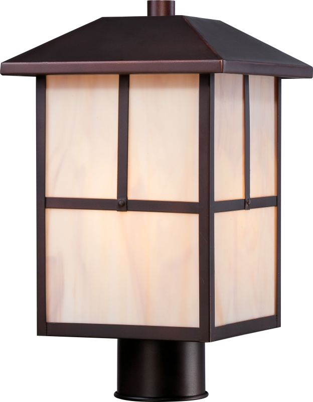 Nuvo Lighting 60/5675 Tanner 1 Light Outdoor Post Light Claret Bronze
