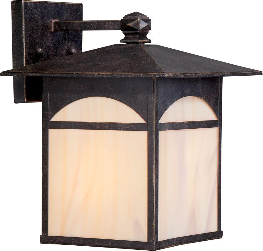 "Nuvo Lighting 60/5752 Canyon ES 9"" Width 1 Light Outdoor Lantern Wall"