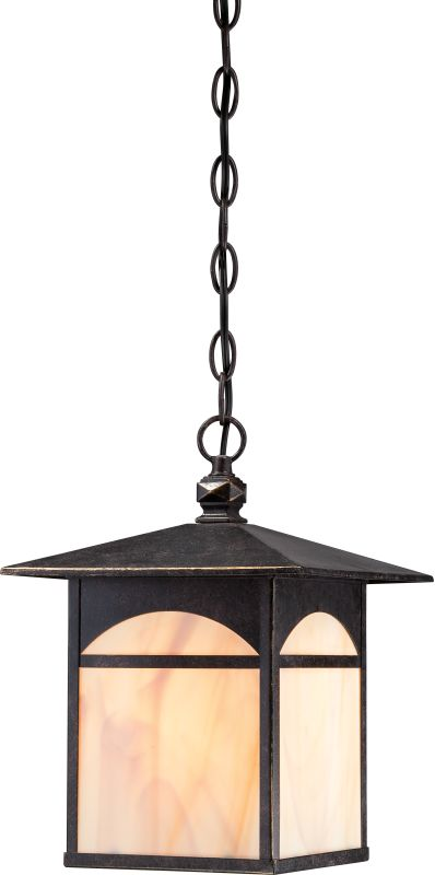 Nuvo Lighting 60/5754 Canyon ES 1 Light Outdoor Small Pendant Umber