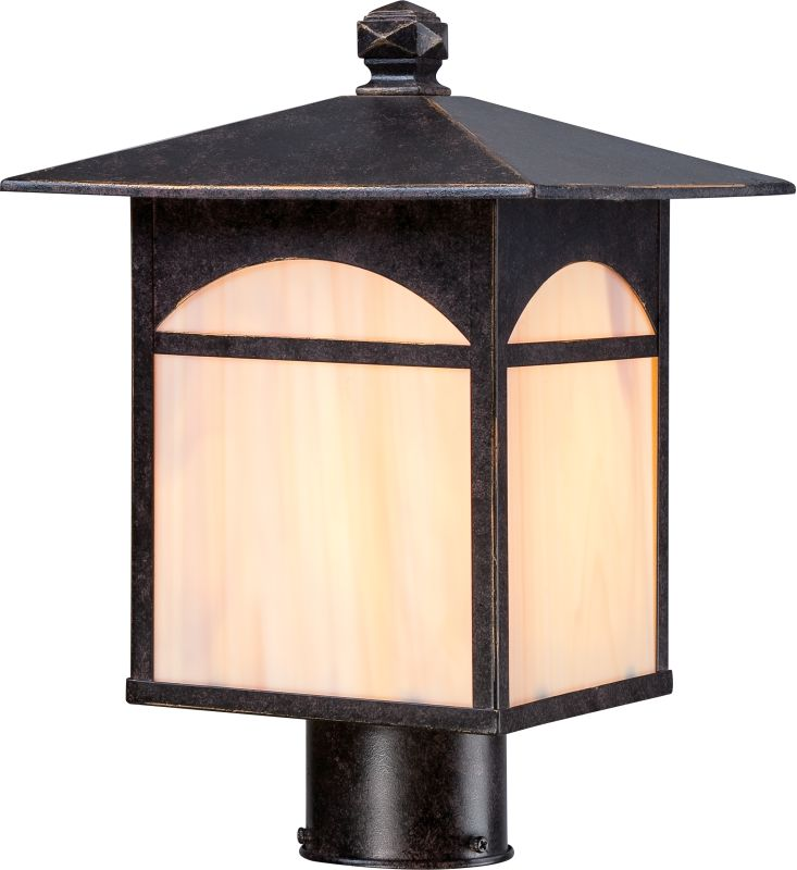 Nuvo Lighting 60/5755 Canyon ES 1 Light Outdoor Post Light Umber