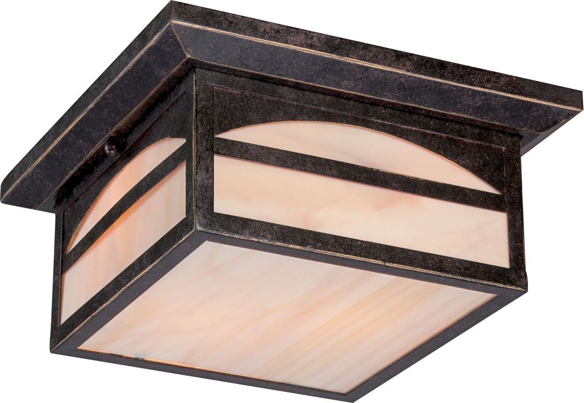 Nuvo Lighting 60/5756 Canyon ES 2 Light Flush Mount Outdoor Ceiling