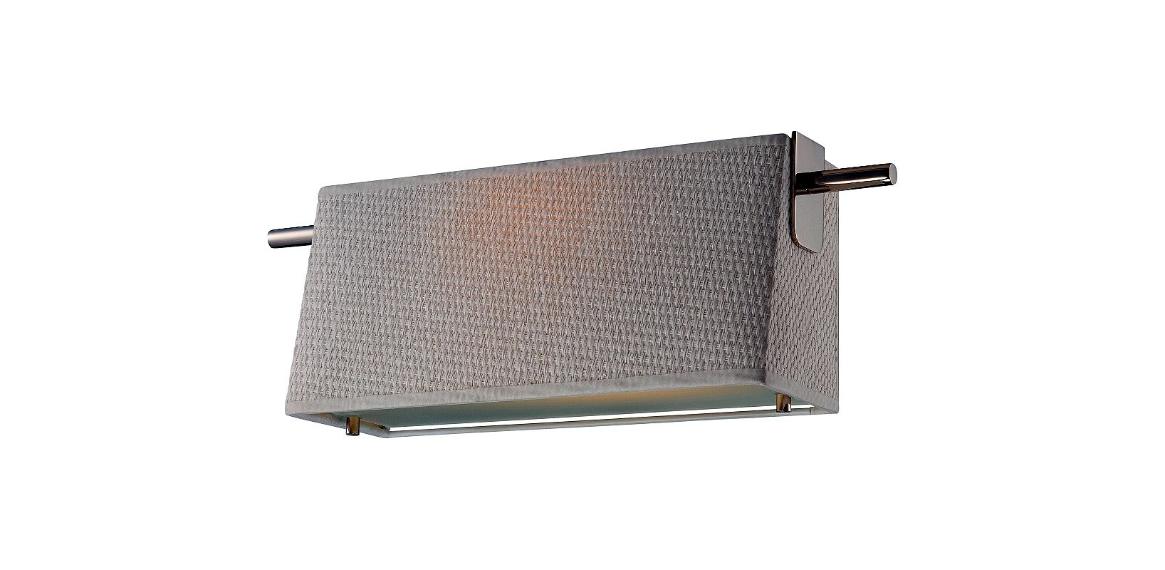 Nuvo Lighting 62/191 Claire 1 Light LED Wall Sconce Polished Nickel