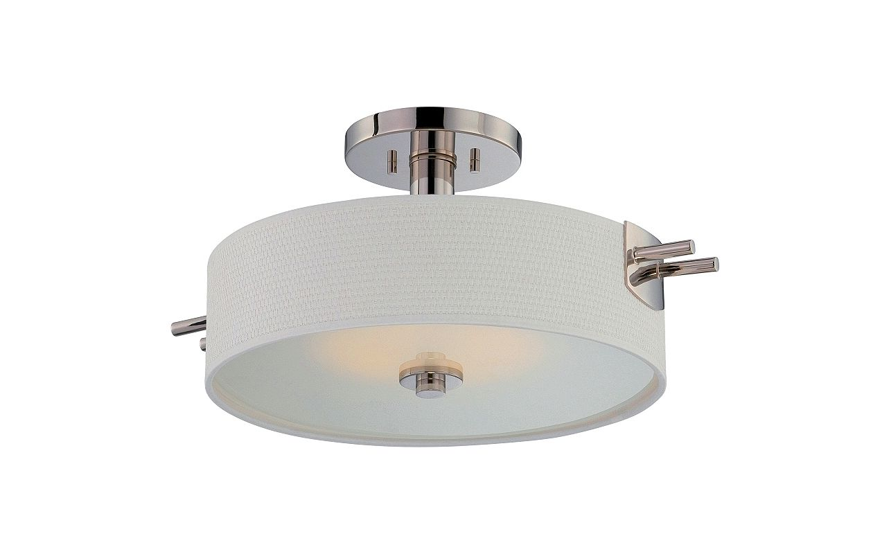Nuvo Lighting 62/194 Claire 1 Light LED Semi-Flush Ceiling Fixture