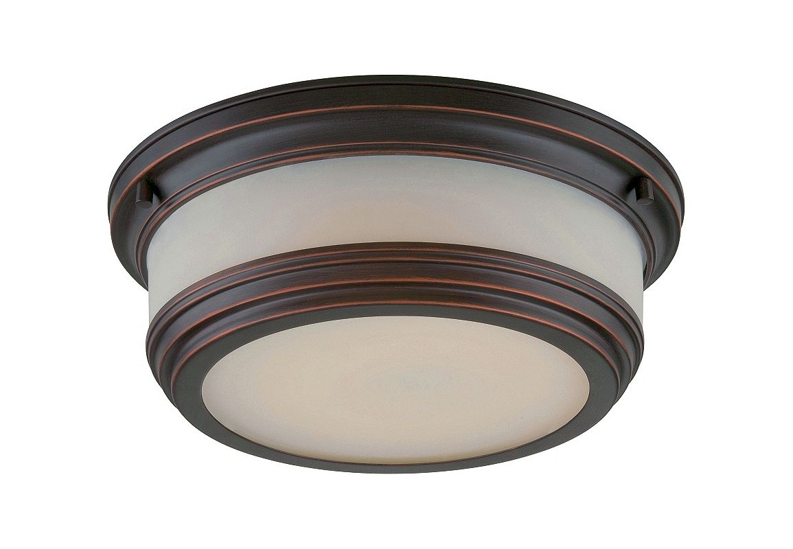 Nuvo Lighting 62/325 Dawson 1 Light LED Flush Mount Ceiling Fixture