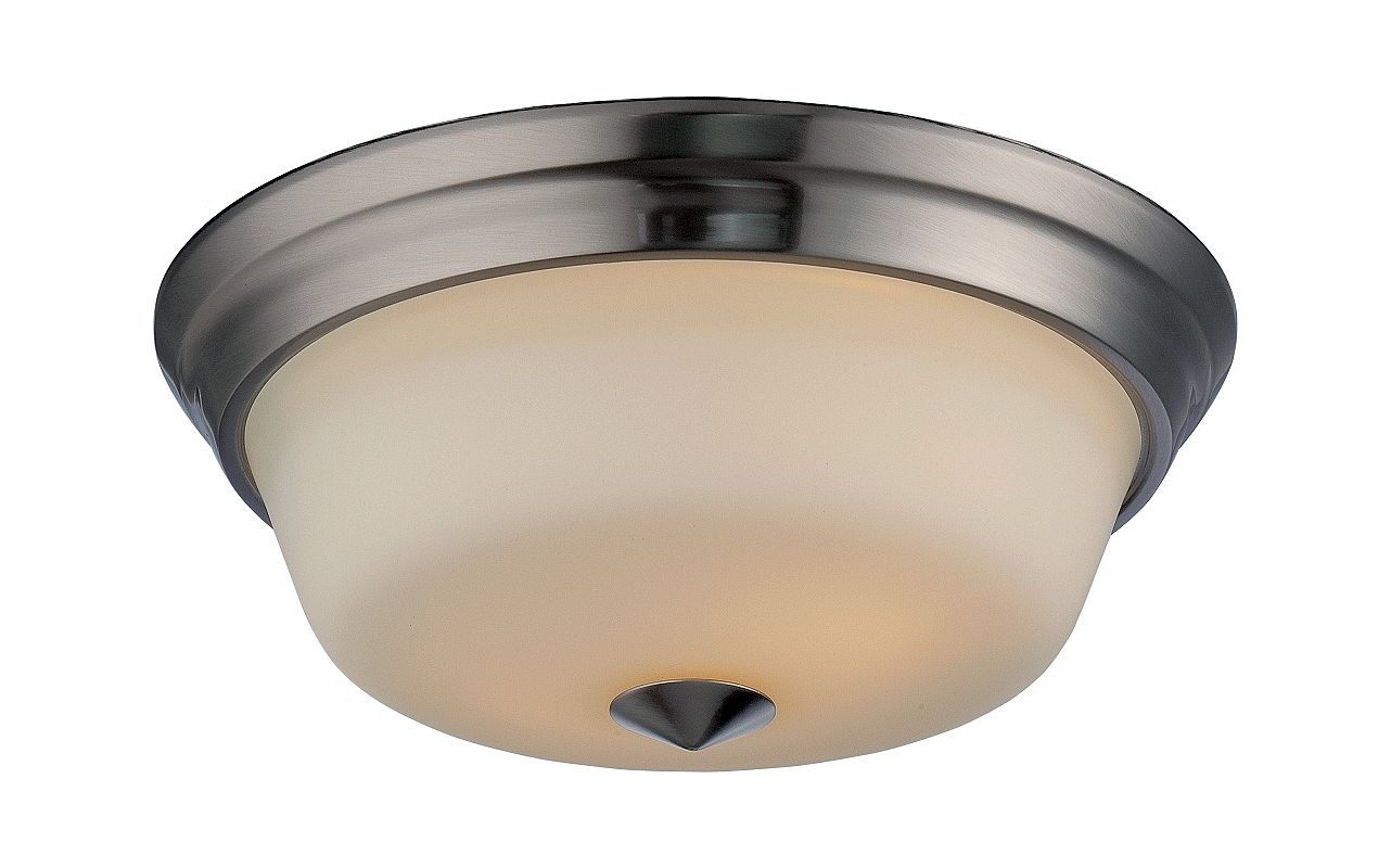 Nuvo Lighting 62/363 Calvin 2 Light LED Flush Mount Ceiling Fixture