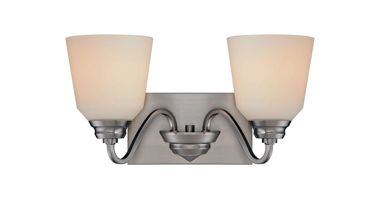 Nuvo Lighting 62/367 Calvin 2 Light LED Energy Star Bathroom Sconce