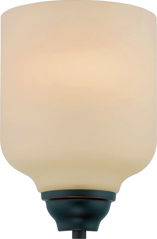 Nuvo Lighting 62/391 Kirk 1 Light LED Bathroom Sconce ADA Compliant