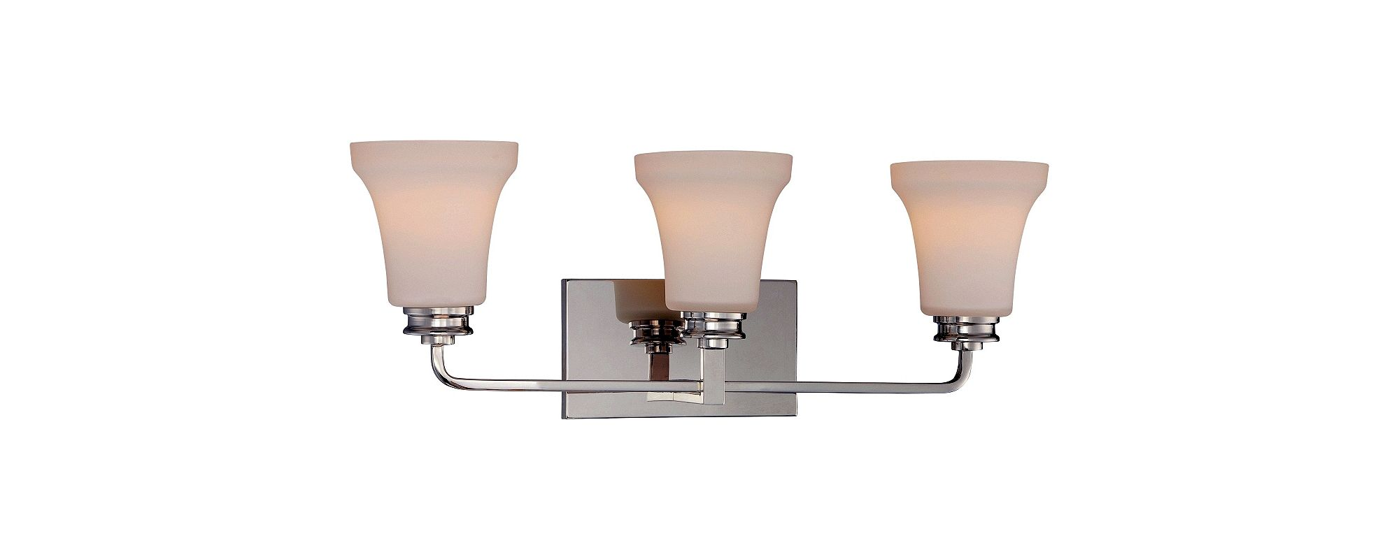 Nuvo Lighting 62/428 Cody 3 Light LED Energy Star Bathroom Sconce