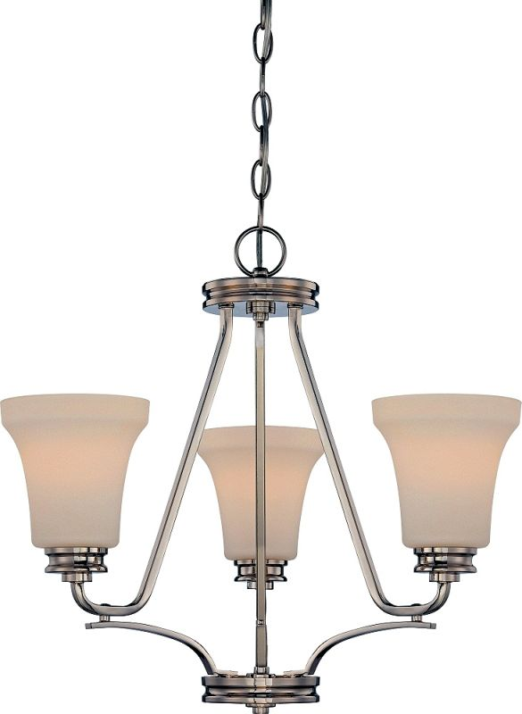 Nuvo Lighting 62/429 Cody 3 Light LED Energy Star Chandelier Polished Sale $219.99 ITEM: bci2613634 ID#:62/429 UPC: 45923324291 :