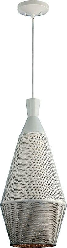 Nuvo Lighting 62/483 Marx 1 Light LED Pendant Glacier White Indoor