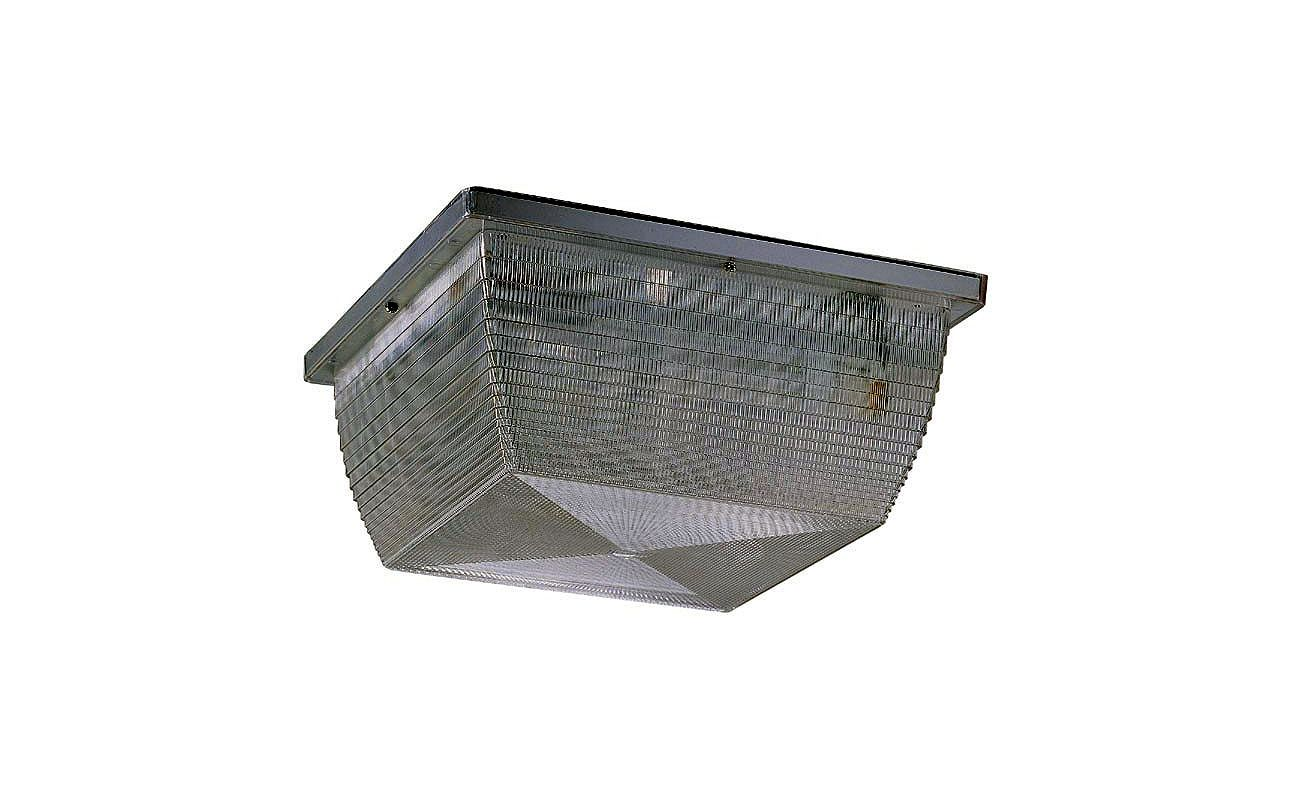 Nuvo Lighting 65/031R Architectural 2 Light Outdoor Flush Mount