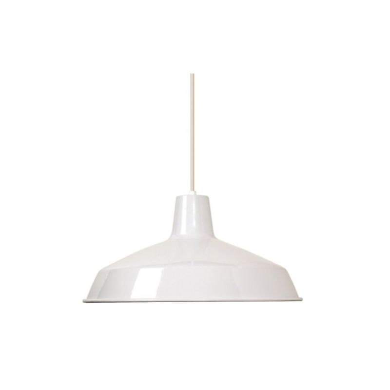 Nuvo Lighting 76-283 Warehouse Shade White Accessory Replacement