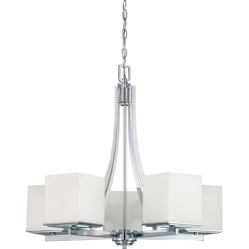 Nuvo Lighting 60/4086 5 Light Up Lighting Chandelier from the Bento