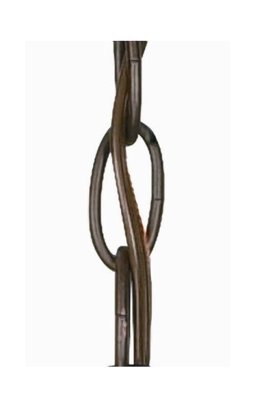 "Nuvo Lighting 25/1161 36"" Section of Chain Chestnut Bronze Accessory"