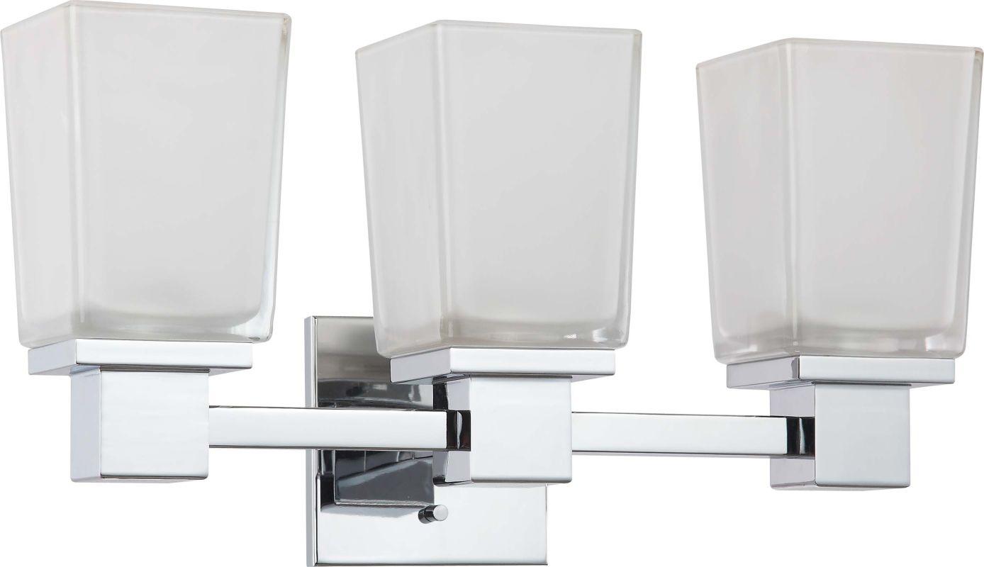 Nuvo Lighting 60/4003 Parker 3 Light Bathroom Vanity Light - 18.75 Sale $95.99 ITEM: bci1948823 ID#:60/4003 UPC: 45923640032 :