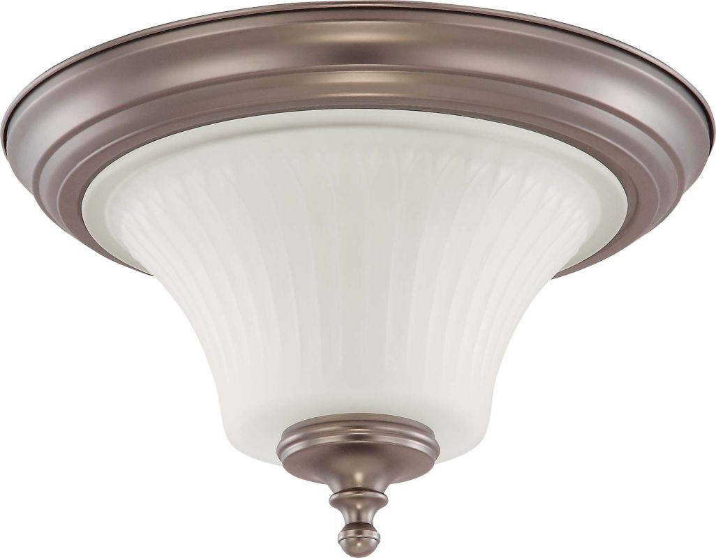 Nuvo Lighting 60/4021 Teller 2 Light Flush Mount Indoor Ceiling