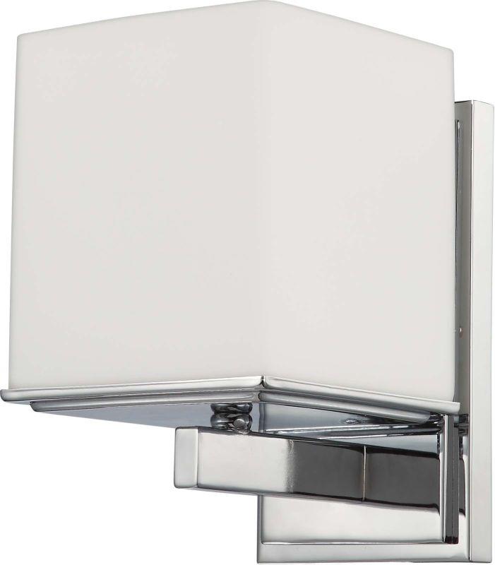 Nuvo Lighting 60/4081 Bento Single Light Bathroom Fixture with Satin