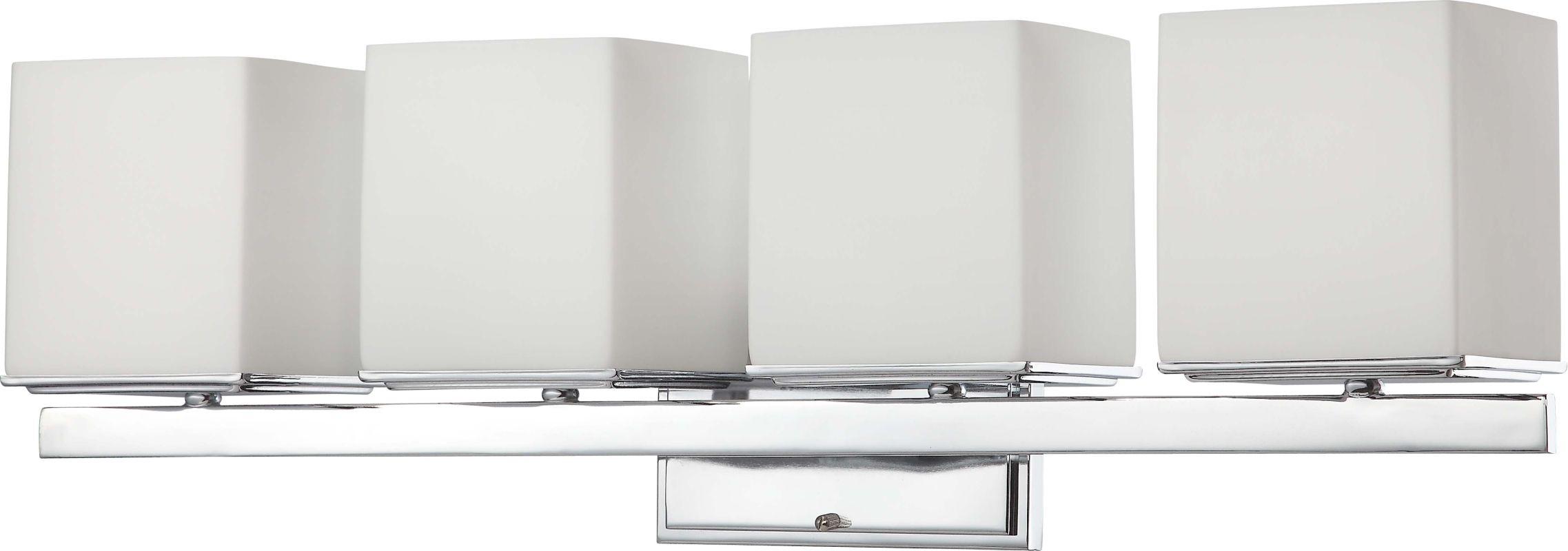 Nuvo Lighting 60/4084 Bento Four Light Bathroom Fixture with Satin Sale $219.99 ITEM: bci1948874 ID#:60/4084 UPC: 45923640841 :