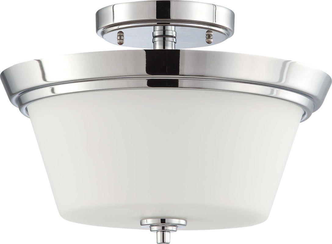 Nuvo Lighting 60/4087 Bento 2 Light Semi-Flush Indoor Ceiling Fixture