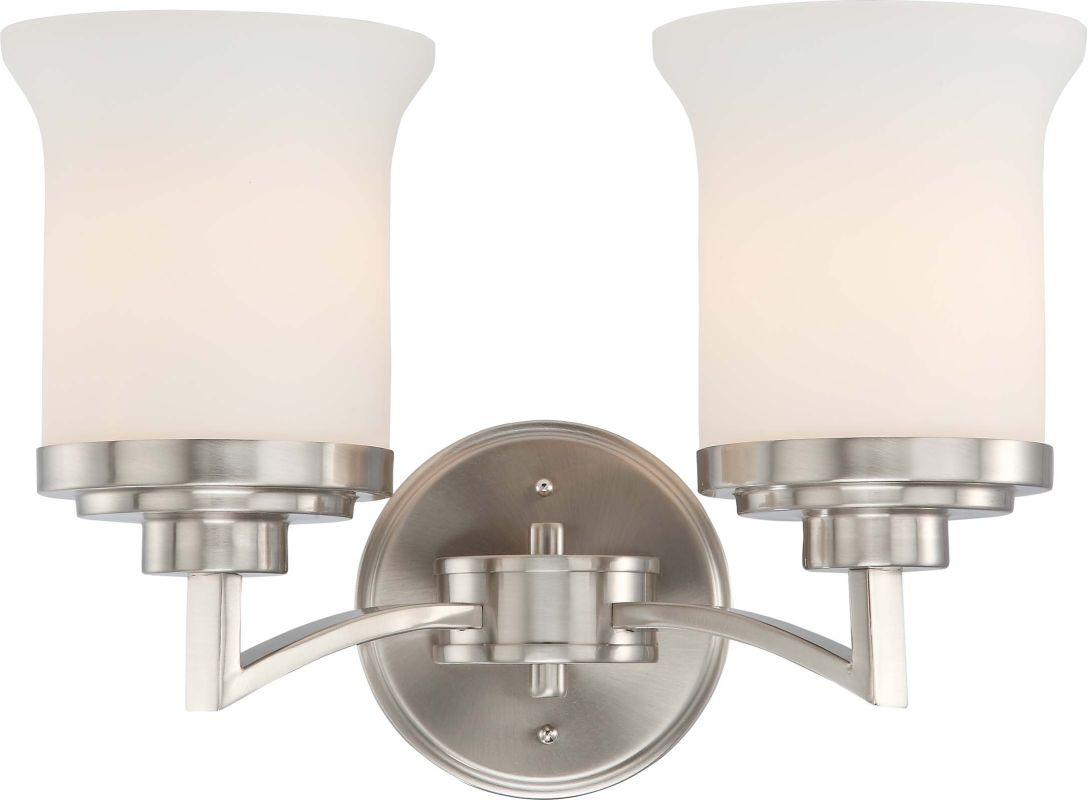 Nuvo Lighting 60/4102 Brushed Nickel Harmony Two Light