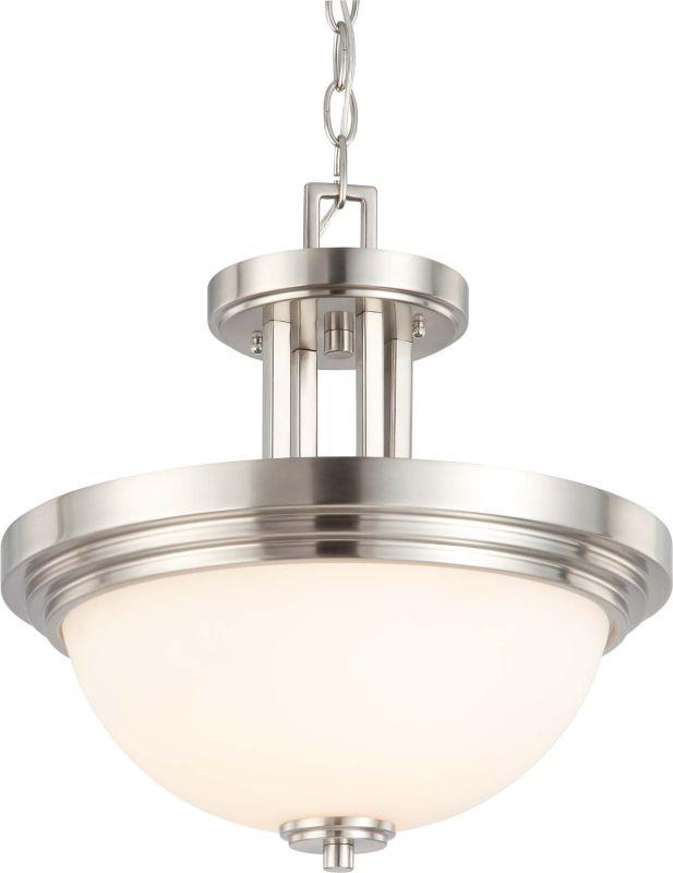 Nuvo Lighting 60/4107 Harmony 2 Light Semi-Flush Indoor Ceiling