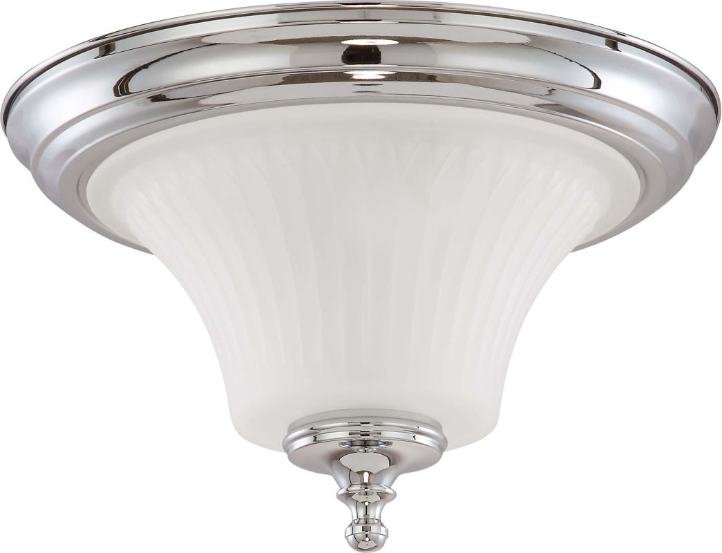 Nuvo Lighting 60/4271 Teller 2 Light Flush Mount Indoor Ceiling