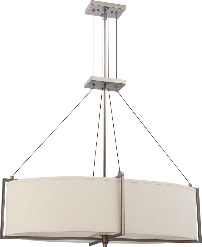 Nuvo Lighting 60/4456 Hazel Bronze Portia Six Light Oval