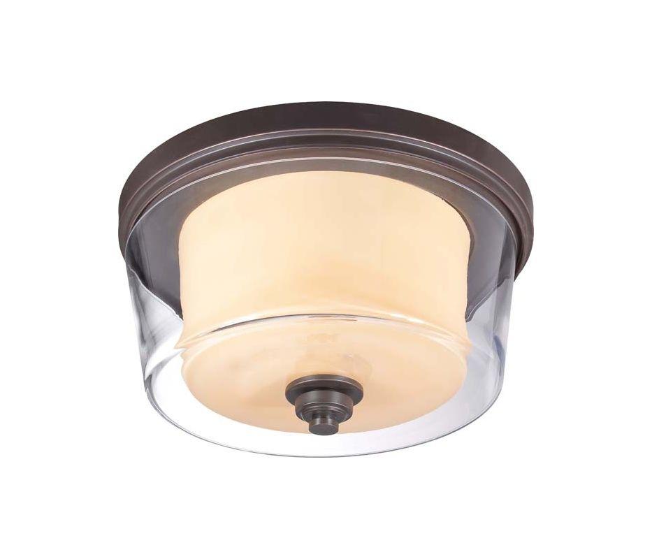 Nuvo Lighting 60/4552 Decker 3 Light Flush Mount Indoor Ceiling Sale $159.99 ITEM: bci1949126 ID#:60/4552 UPC: 45923645525 :