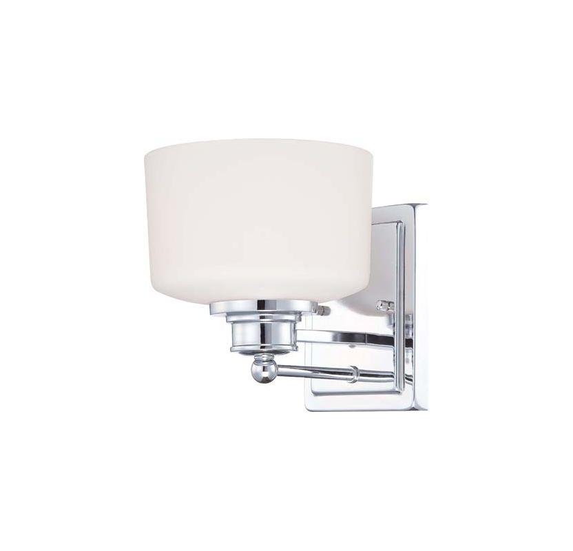 Nuvo Lighting 60/4581 Soho Single Light Bathroom Fixture with Satin Sale $49.99 ITEM: bci1949138 ID#:60/4581 UPC: 45923645815 :