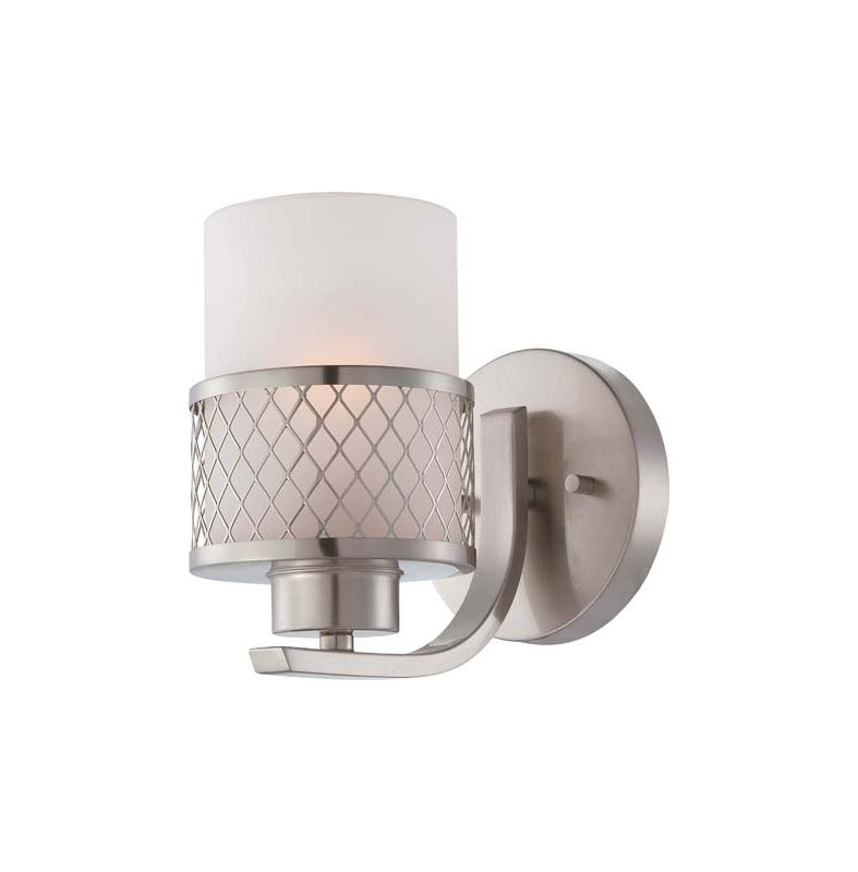 Nuvo Lighting 60/4681 Fusion Single Light Bathroom Fixture with