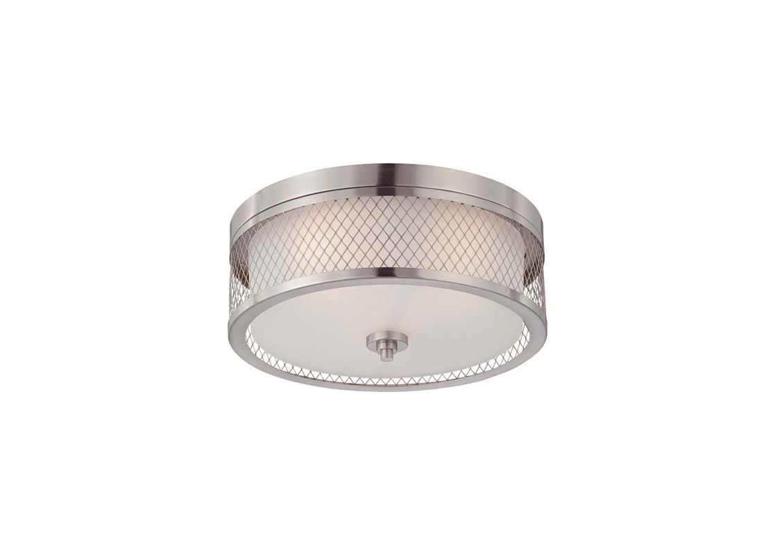 Nuvo Lighting 60/4691 Fusion 3 Light Flush Mount Indoor Ceiling