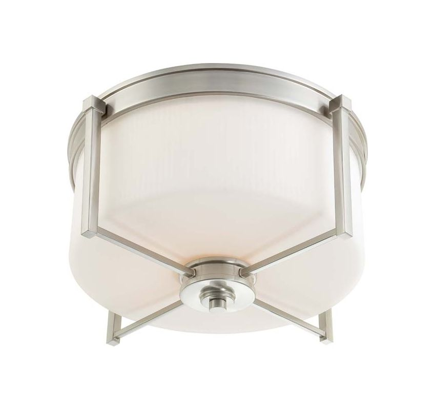 Nuvo Lighting 60/4712 Wright 3 Light Flush Mount Indoor Ceiling