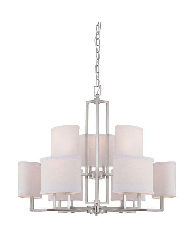Nuvo Lighting 60/4759 Gemini Nine Light Chandelier with Slate Gray Sale $659.99 ITEM: bci1949247 ID#:60/4759 UPC: 45923647598 :