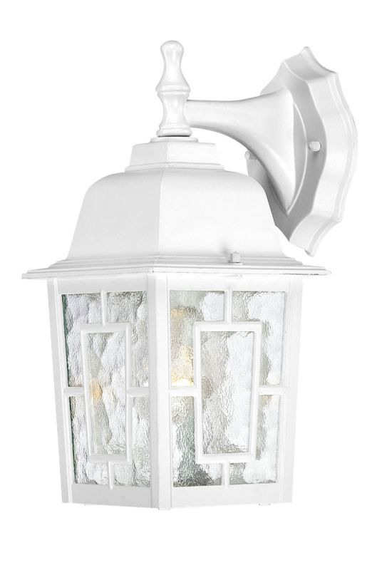 Nuvo Lighting 60/4921 Banyon Single-Light Wall Lantern with Clear