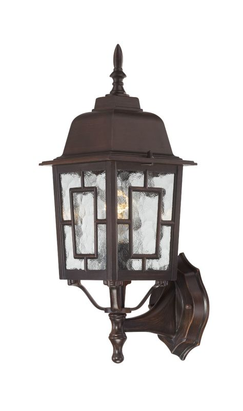 Nuvo Lighting 60/4925 Banyon Single-Light Wall Lantern with Clear