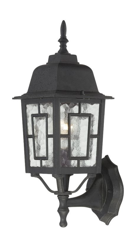 Nuvo Lighting 60/4926 Banyon Single-Light Wall Lantern with Clear