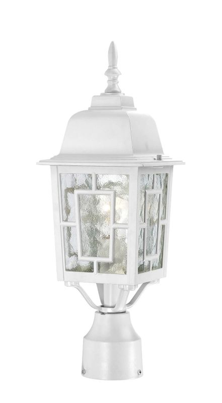 Nuvo Lighting 60/4927 Banyon Single-Light Post Lantern with Clear