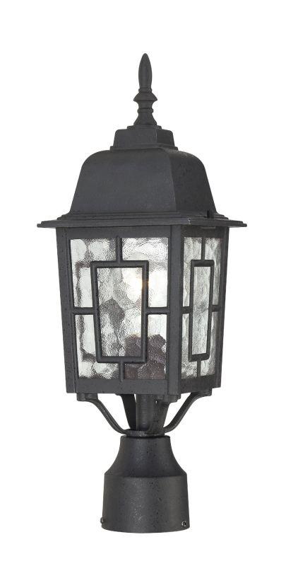 Nuvo Lighting 60/4929 Banyon Single-Light Post Lantern with Clear