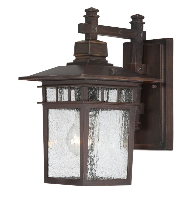 Nuvo Lighting 60/4952 Cove Neck Single-Light Wall Lantern with Clear