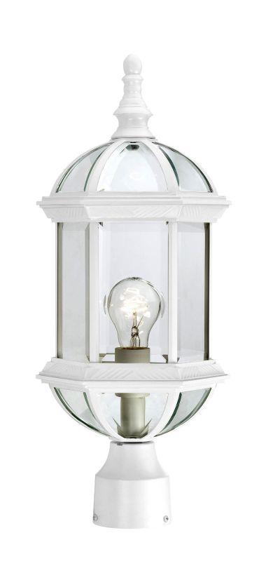 Nuvo Lighting 60/4974 Boxwood Single-Light Post Lantern with Clear
