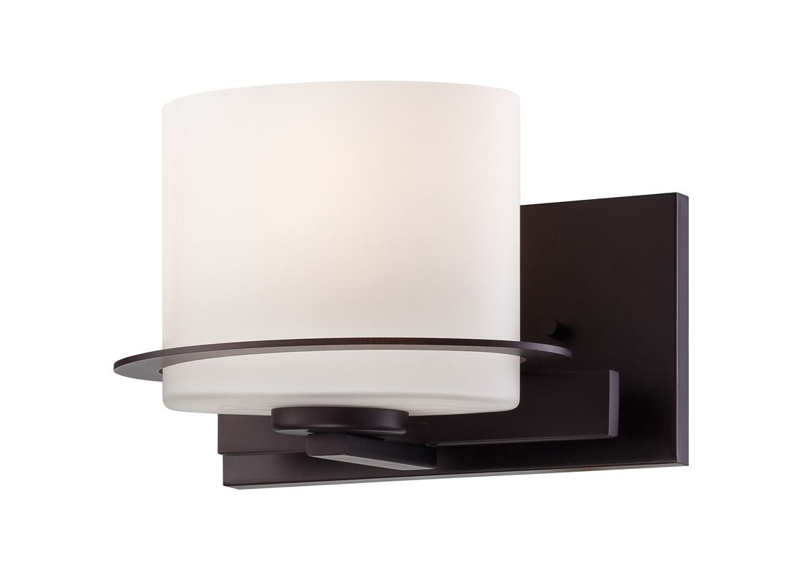 Nuvo Lighting 60/5001 Loren Single-Light Bathroom Fixture with Oval